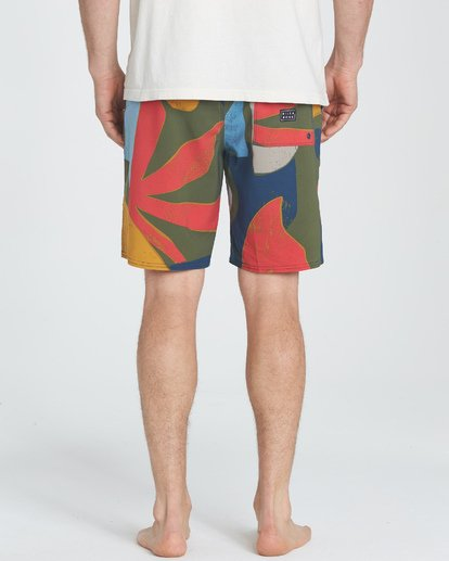 "3 Sundays Lo Tides 19"" Boardshorts Grün P1BS13BIS9 Billabong"