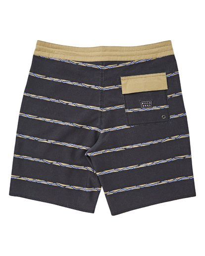"1 Sundays Stripe Lo Tides 19"" Boardshorts Grau P1BS14BIS9 Billabong"