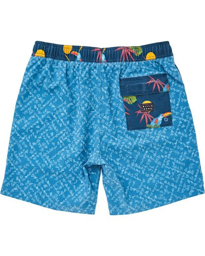 "1 Sundays Layback 16"" Boardshorts Blau P1LB02BIS9 Billabong"