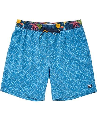 "0 Sundays Layback 16"" Boardshorts Blau P1LB02BIS9 Billabong"