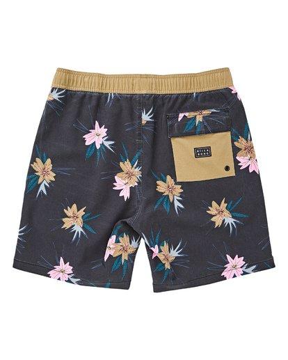 "1 Sundays Floral Layback 16"" Boardshorts Grau P1LB03BIS9 Billabong"