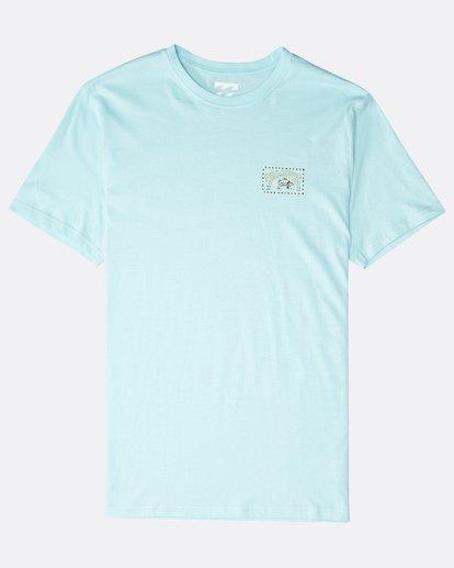 0 Bad Fish T-Shirt Grün P1SS12BIS9 Billabong