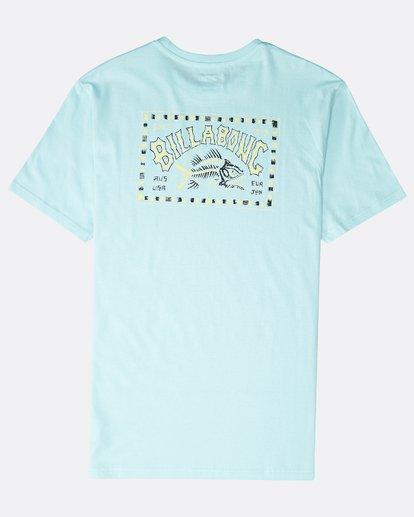 1 Bad Fish T-Shirt Grün P1SS12BIS9 Billabong