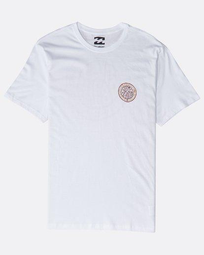 0 Tribe T-Shirt Weiss P1SS17BIS9 Billabong