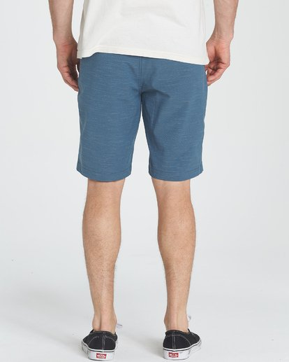 3 Crossfire X Slub Submersibles Shorts Blau P1WK01BIS9 Billabong