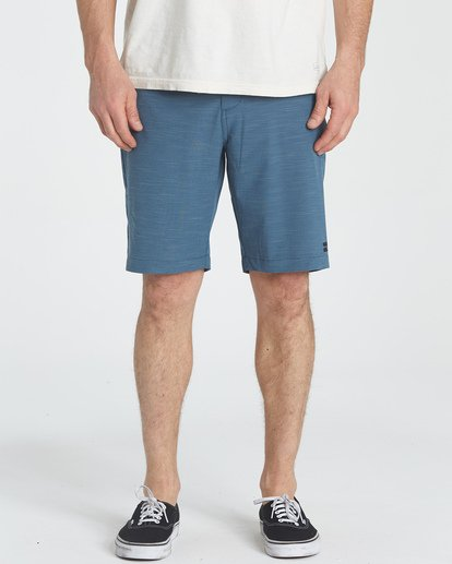2 Crossfire X Slub Submersibles Shorts Blau P1WK01BIS9 Billabong