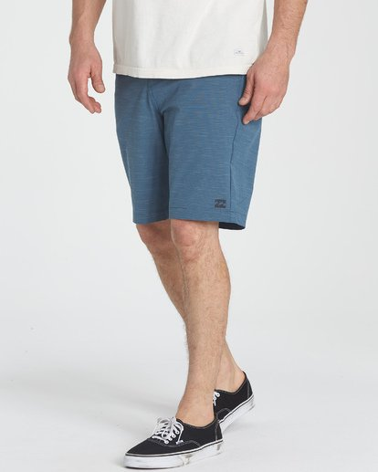4 Crossfire X Slub Submersibles Shorts Blau P1WK01BIS9 Billabong