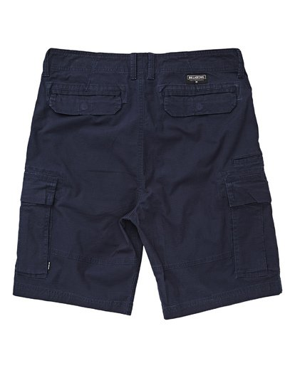 3 Scheme Cargo Shorts Blau P1WK03BIS9 Billabong