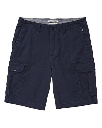 2 Scheme Cargo Shorts Blau P1WK03BIS9 Billabong