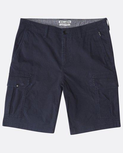 0 Scheme Cargo Shorts Blau P1WK03BIS9 Billabong