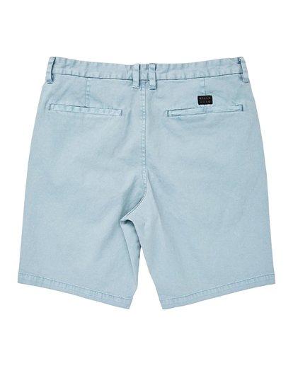 1 New Order Wave Wash Shorts Blue P1WK04BIS9 Billabong