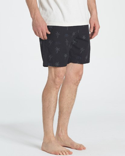 5 Larry Layback Sunday Shorts Negro P1WK06BIS9 Billabong