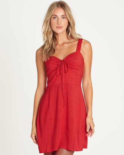 0 Cherry Kisses Mini Dress  P3DR06BIS9 Billabong