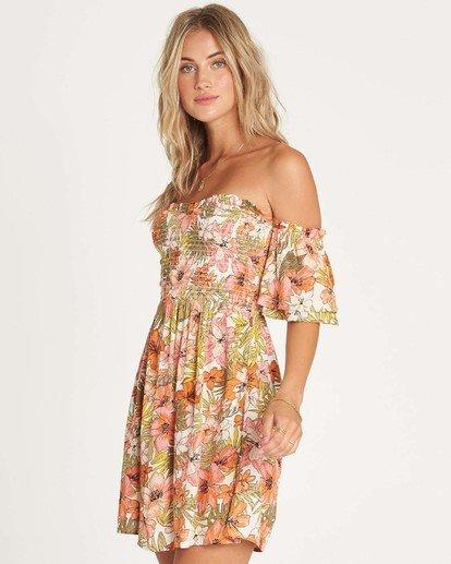 1 Dancing Sun Dress Weiss P3DR40BIMU Billabong