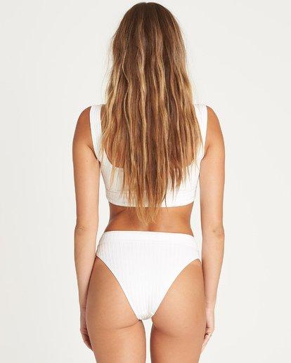 2 Sunny Rib Maui Rider Bikini Bottom White P3SB04BIS9 Billabong