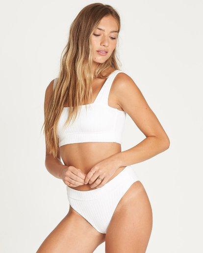 3 Sunny Rib Maui Rider Bikini Bottom Weiss P3SB04BIS9 Billabong