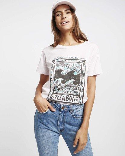 0 Hello Summer T-Shirt Violett P3SS03BIS9 Billabong