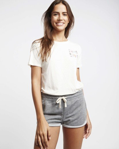 0 Hello Summer T-Shirt Beige P3SS03BIS9 Billabong