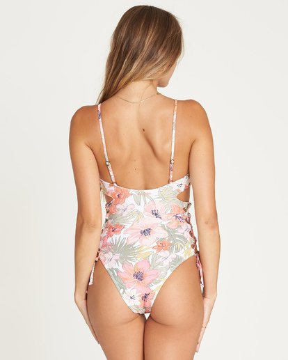 2 Tropic Luv One Piece Swim Gelb P3SW12BIS9 Billabong