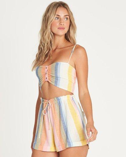 3 Double Rainbow High-Waisted Shorts  P3WK21BIMU Billabong