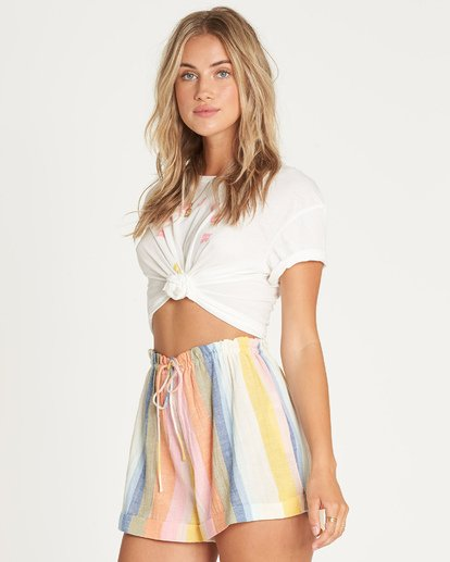 5 Double Rainbow High-Waisted Shorts  P3WK21BIMU Billabong