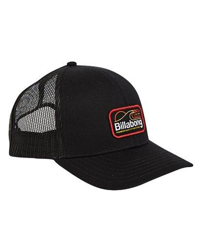 3 Walled Trucker Hat Schwarz P5CT01BIS9 Billabong