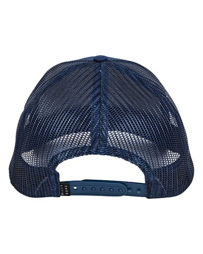 1 Walled Trucker Hat Blue P5CT01BIS9 Billabong