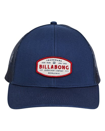 0 Walled Trucker Hat Blue P5CT01BIS9 Billabong