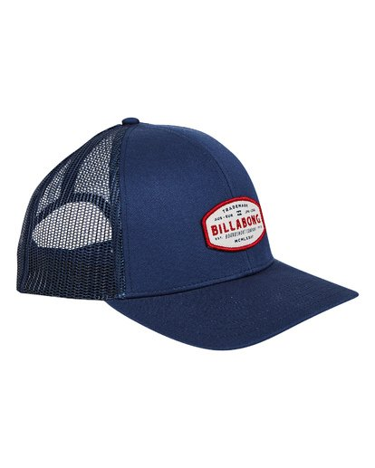 3 Walled Trucker Hat Blue P5CT01BIS9 Billabong