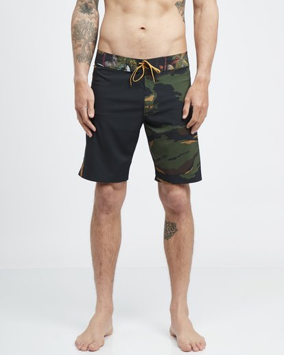2 Dbah Airlite - Boardshorts für Männer Grün Q1BS01BIF9 Billabong
