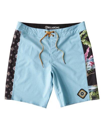4 D Bah Pro - Boardshorts für Männer Blau Q1BS05BIF9 Billabong