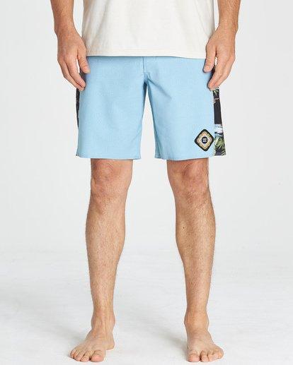 11 D Bah Pro - Boardshorts für Männer Blau Q1BS05BIF9 Billabong