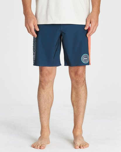 10 D Bah Pro - Boardshorts für Männer Blau Q1BS05BIF9 Billabong