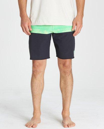 11 Fifty50 Fade Pro - Boardshort para Hombre Verde Q1BS07BIF9 Billabong