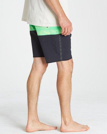 13 Fifty50 Fade Pro - Boardshort para Hombre Verde Q1BS07BIF9 Billabong
