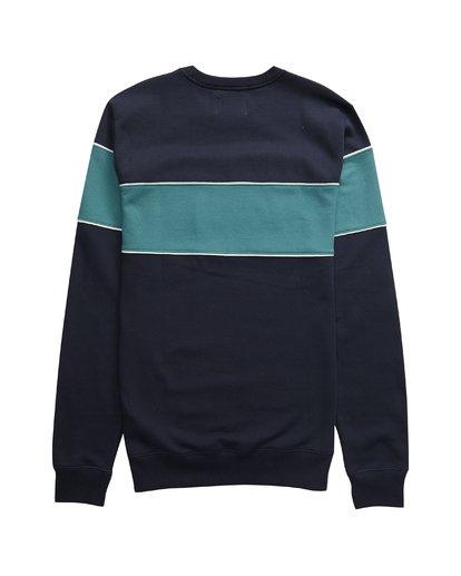 3 Edge - Crew Pullover für Männer Blau Q1CR01BIF9 Billabong