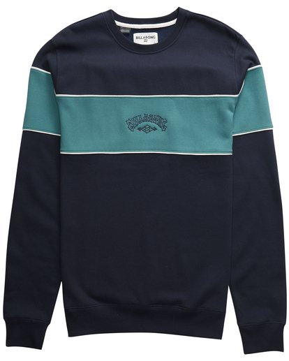 2 Edge - Crew Pullover für Männer Blau Q1CR01BIF9 Billabong