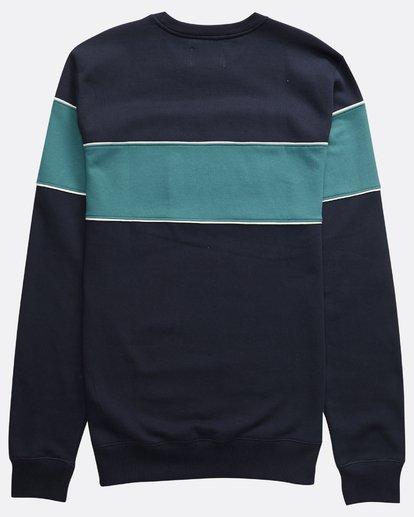 1 Edge - Crew Pullover für Männer Blau Q1CR01BIF9 Billabong