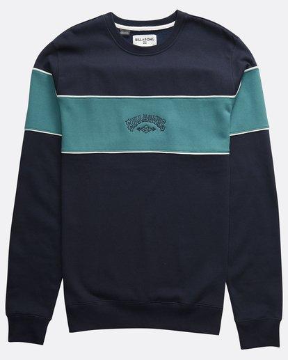 0 Edge - Crew Pullover für Männer Blau Q1CR01BIF9 Billabong