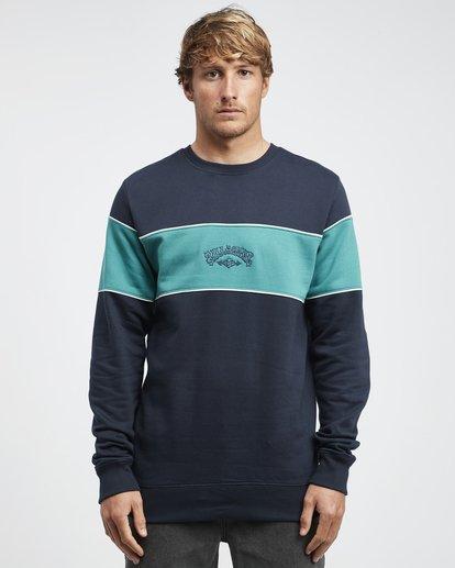 4 Edge - Crew Pullover für Männer Blau Q1CR01BIF9 Billabong