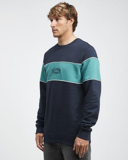 6 Edge - Crew Pullover für Männer Blau Q1CR01BIF9 Billabong