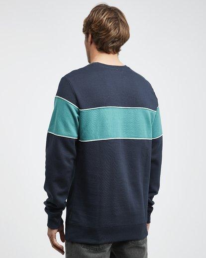 7 Edge - Crew Pullover für Männer Blau Q1CR01BIF9 Billabong