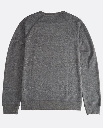 1 Trd Mark - Crew Pullover für Männer Schwarz Q1CR02BIF9 Billabong