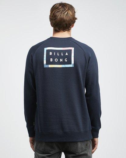 5 Die Cut Theme - Crew Pullover für Männer Blau Q1CR03BIF9 Billabong