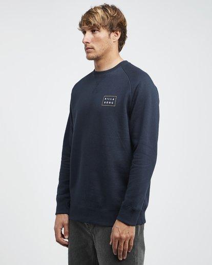 6 Die Cut Theme - Crew Pullover für Männer Blau Q1CR03BIF9 Billabong