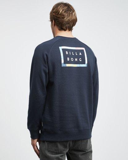 7 Die Cut Theme - Crew Pullover für Männer Blau Q1CR03BIF9 Billabong
