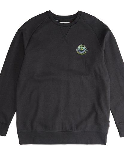 2 Iconic - Crew Pullover für Männer Schwarz Q1CR06BIF9 Billabong