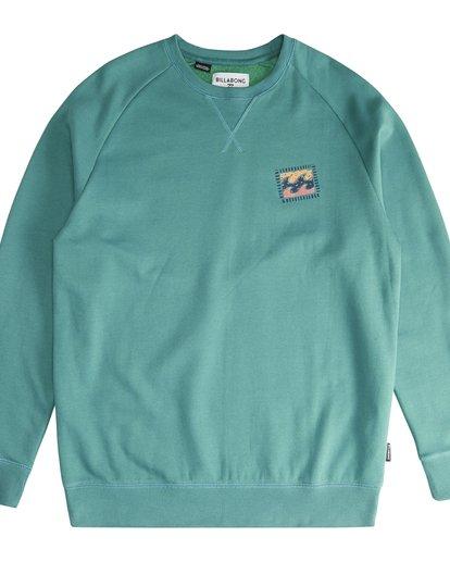 2 Iconic - Crew Pullover für Männer Grün Q1CR06BIF9 Billabong