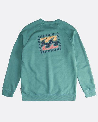 1 Iconic - Crew Pullover für Männer Grün Q1CR06BIF9 Billabong