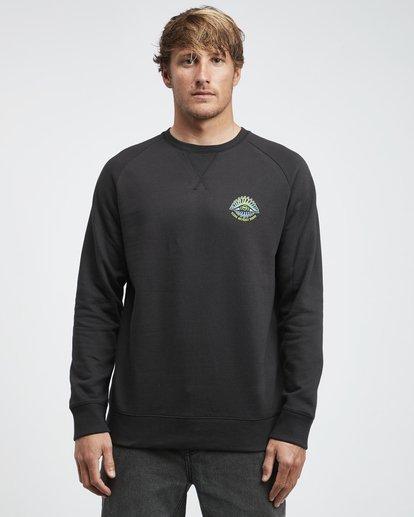 4 Iconic - Crew Pullover für Männer Schwarz Q1CR06BIF9 Billabong